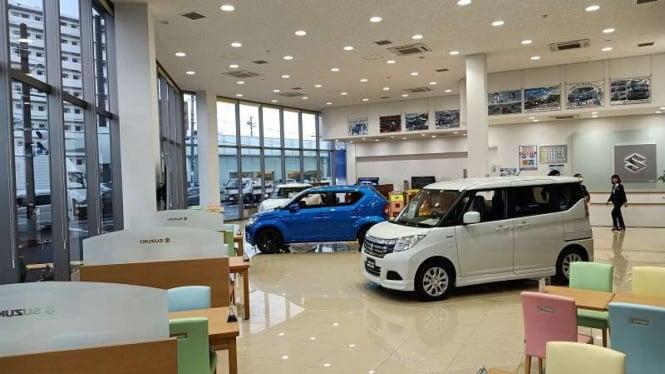 Diler mobil Suzuki di Jepang