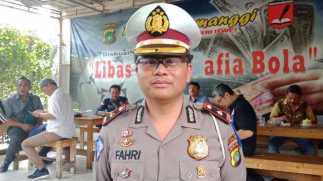 Kepala Sub Dit Pembinaan dan Penegakkan Hukum Polda Metro AKBP Fahri Siregar