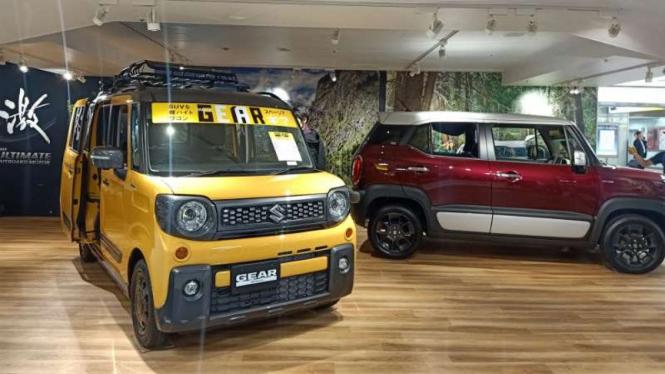 Suzuki Gear yang menjadi salah satu model kei car di Jepang