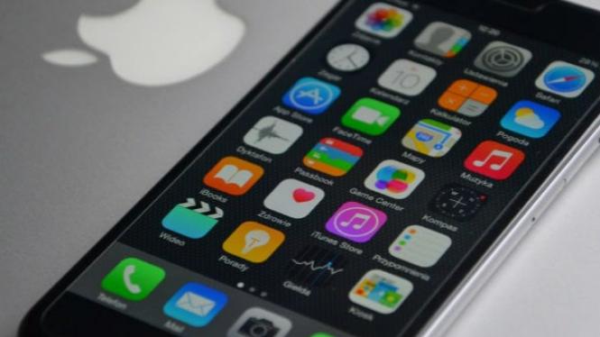Aplikasi iPhone.