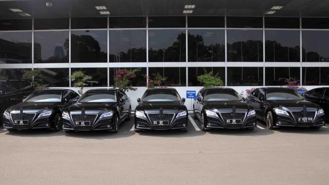 Mobil Para Menteri dan Pimpnan Lembaga Tinggi Negara