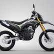 Honda CRF150L warna Extreme Grey