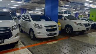 Chevrolet Spin di pasar mobil bekas Mega Glodok Kemayoran, Jakarta