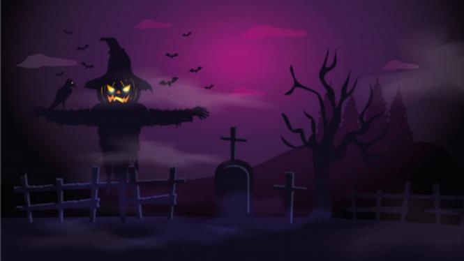 Ilustrasi Halloween.