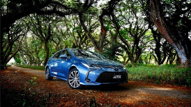 All New Toyota Corolla Altis