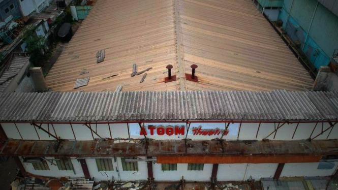 Foto-foto Penampakan Angkernya Bioskop Atoom di Citeureup