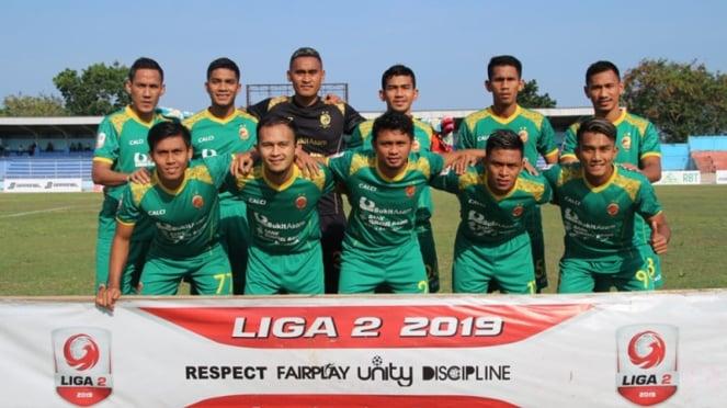 Skuat Sriwijaya FC di Liga 2 2019