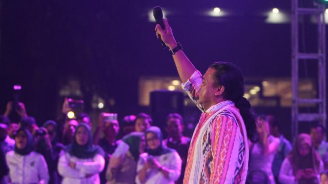 Didi Kempot Goyang DPR di Perayaan Harlah PKB