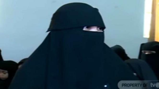 Indadari, pendiri Niqab Squad Indonesia
