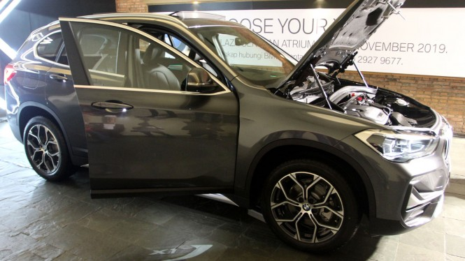 The New BMW X1 Meluncur di Jakarta