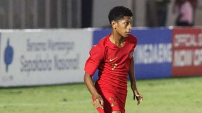 Bek timnas Indonesia U-16, Alfin Lestaluhu