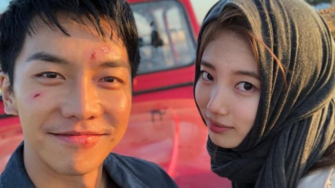 Sederet Adegan Bae Suzy Berhijab di Drama Korea Vagabond