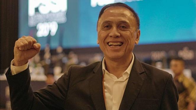 Ketua Umum PSSI terpilih, Mochamad Iriawan.
