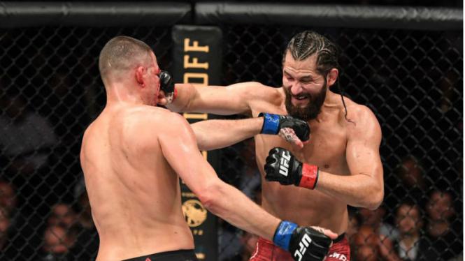 Duel Jorge Masvidal versus Nate Diaz di perebutan titel BMF UFC