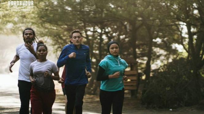 Ajang Borobudur Marathon 2019