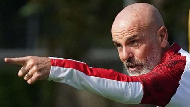 Pelatih AC Milan, Stefano Pioli