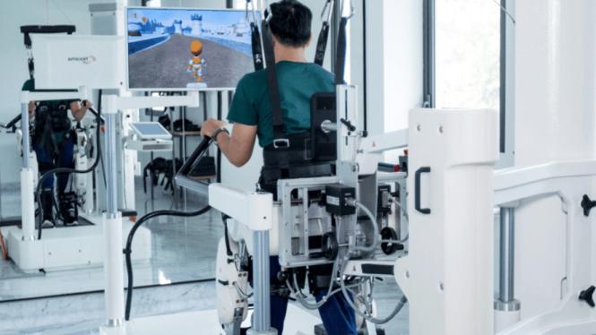 Terapi robotik penyandang stroke