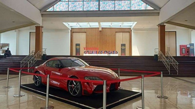 Toyota Supra GR yang dijual di Indonesia