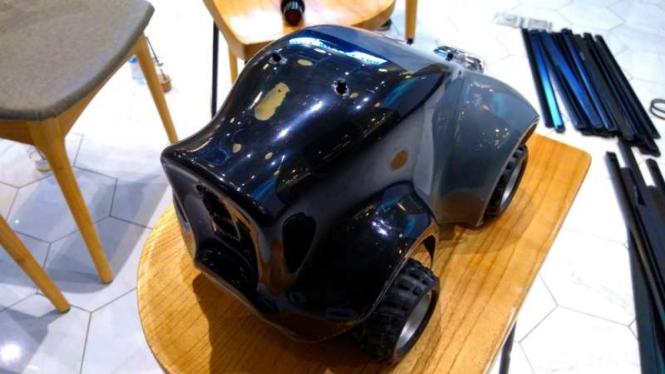 Model mobil otonom rancangan Amazon