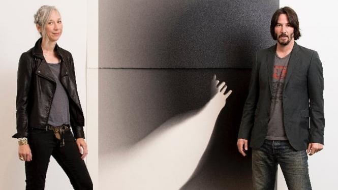 Alexandra Grant dan Keanu Reeves.