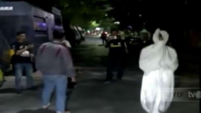 Polisi menangkap dua remaja yang membuat prank pocong di Makassar