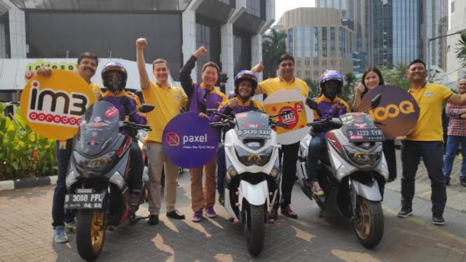 Peluncuran layanan prabayar Indosat secara online
