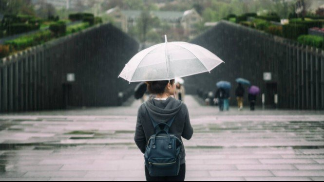 ilustrasi musim hujan