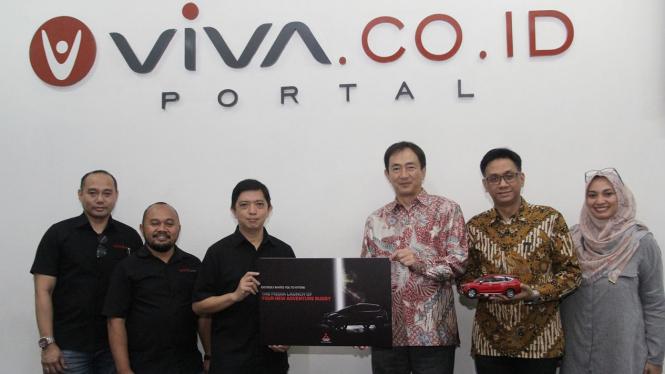 Mitsubishi Motors Indonesia Kunjungi VIVA Networks