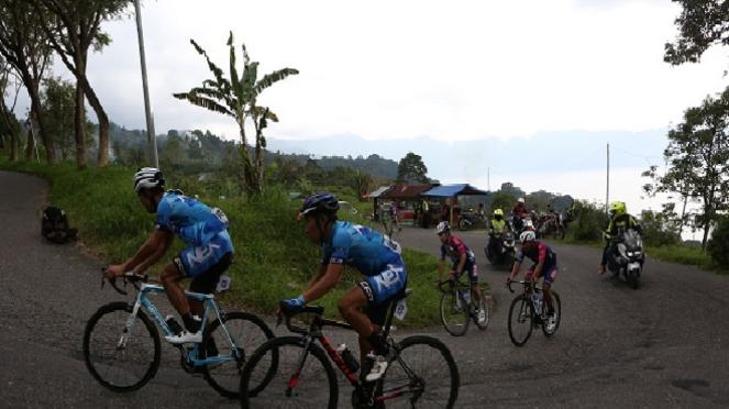 Etape Kelima Tour de Singkarak 2019