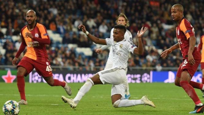 Bintang muda Real Madrid, Rodrygo Goes