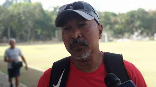 Pelatih Timnas Indonesia U-19, Fakhri Husaini.