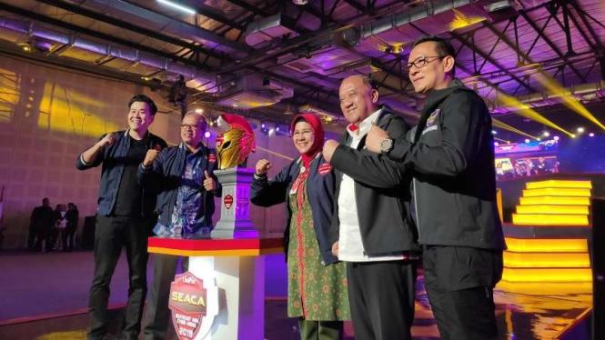 Pembukaan Turnamen eSports SEACA 2019
