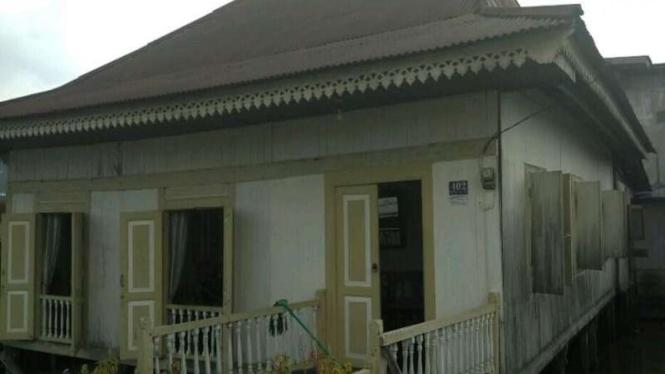 Rumah Panggung di Pontianak, Kalimantan Barat