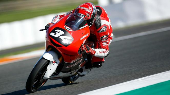 Pembalap Astra Honda Motor Indonesia (AHM), Mario Suryo Aji