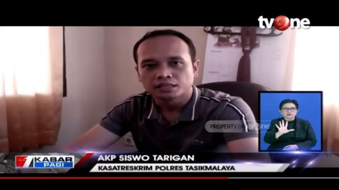 Kasatreskrim Polres Tasik Malaya AKP Siswo Tarigan