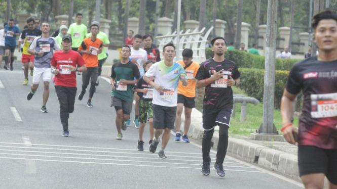 Lomba lari 5K tutup gelaran Porseni Bakrie 2019