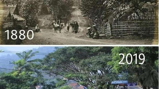Foto jalan di Jawa Barat