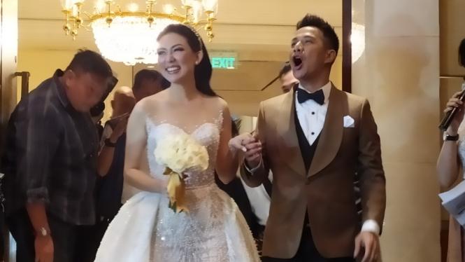 Aida Chandra dan Baim Wong.