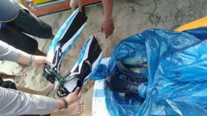 Seorang WNA China yang hilang saat menyelam di Banten ditemukan
