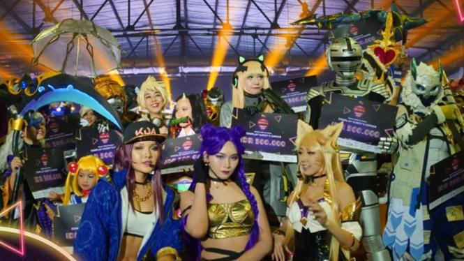Serunya ajang Cosplay Competition di Arena SEACA 2019