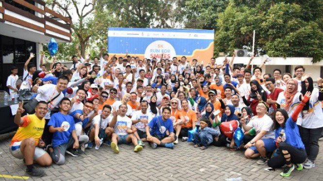 Run for Smile; Be a Hero