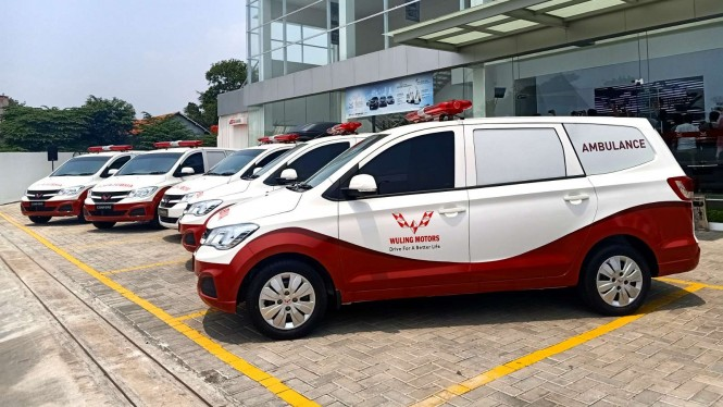 Wuling Confero versi ambulans