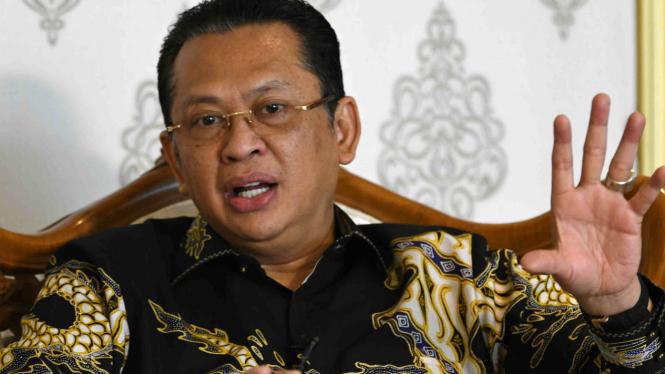 Politikus Golkar sekaligus Ketua MPR Bambang Soesatyo