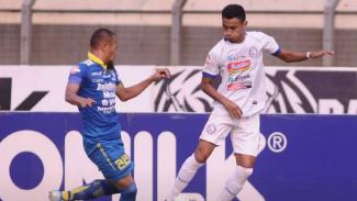 Laga Liga 1 2019 antara Persib Bandung kontra Arema FC