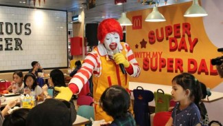 Keseruan Hari Ayah Nasional di McDonald's.