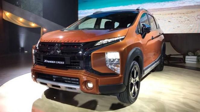 Tampilan baru Mitsubishi Xpander Cross yang lebih gagah