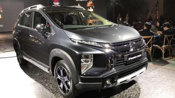 Mitsubishi Xpander Cross menggabungkan MPV dengan tampilan Crossover
