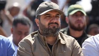 Baha Abu al-Ata tewas dalam serangan udara Israel dan kelompoknya bersumpah membalas kematiannya. - AFP