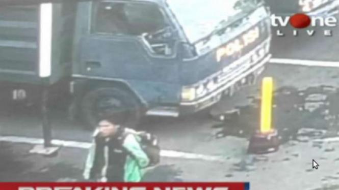 Terduga pelaku bom bunuh diri di Polrestabes Medan