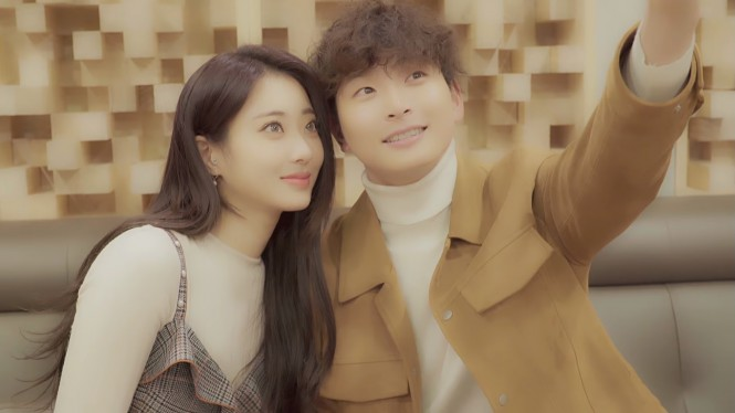 Kyungri dan Jeong Jinwoon
